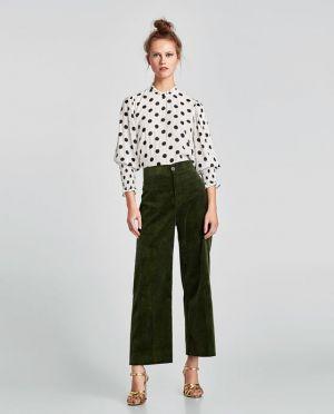 Bluzka W Kropki Zara 139,00 Zł