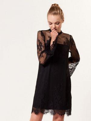 Czarna Koronkowa Sukienka Mohito 149,99 Zł