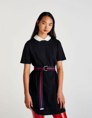 Czarna Sukienka Pull&Bear 79,90 Zł