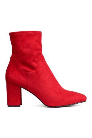Czerwone Botki H&M 139,90 Zł
