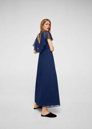 Długa Sukienka Dwuwarstwowa Mago 229,90 Zł