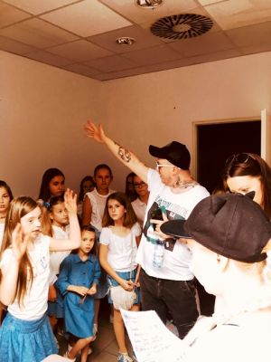 Gwiazdy Na Dzień Dziecka Spełniły Marzenie Dziewczynki Z Zespołem Downa ! (23)