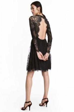 Koronkowa Sukienka H&M 299,00 Zł