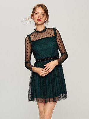 Koronkowa Sukienka W Gwiazdki Reserved 139,90 Zł