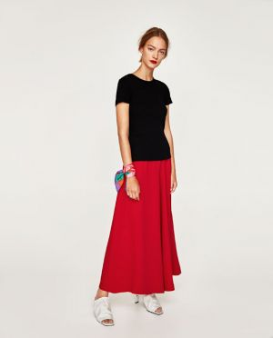 Luźne Spodnie Szwedy Zara 139,00 Zł