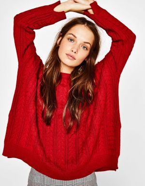 Luźny Sweter Bershka 99,90 Zł