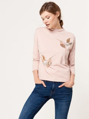 Miękki Sweter Z Aplikacją Mohito 99,99 Zł