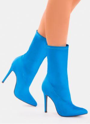 Niebieskie Botki  Deezee 119,99 Zł
