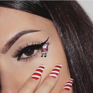 Oryginalny Makijaż Na Święta Pinterest (12)