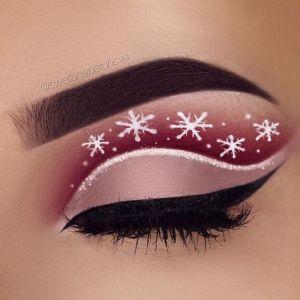 Oryginalny Makijaż Na Święta Pinterest (1)