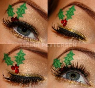 Oryginalny Makijaż Na Święta Pinterest (3)