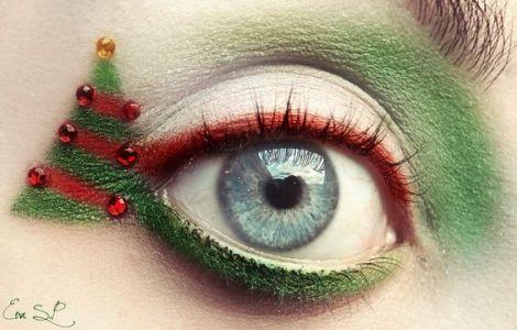 Oryginalny Makijaż Na Święta Pinterest (4)