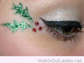 Oryginalny Makijaż Na Święta Pinterest (6)