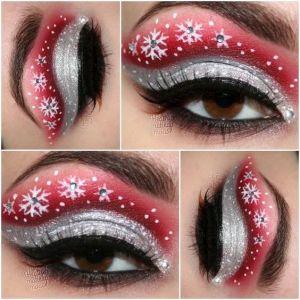Oryginalny Makijaż Na Święta Pinterest (7)