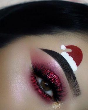 Oryginalny Makijaż Na Święta Pinterest (8)
