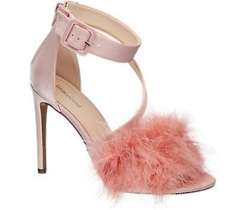 Sandalki Różowe Deichmann 139,90 Zł