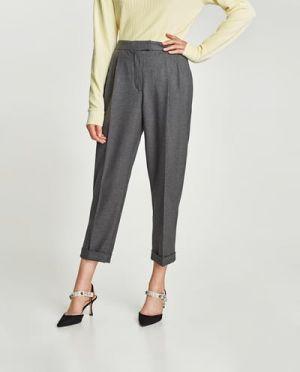 Spodnie Z Zaszywkami Zara 59,90 Zł