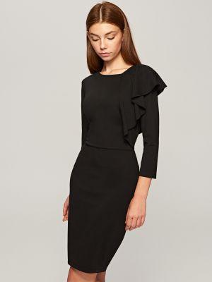 Sukienka Z Falbaną Reserved 79,99 Zł
