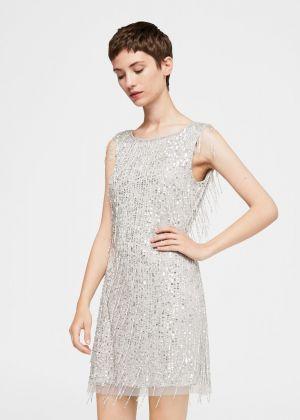 Sukienka Z Koralikami Mango 314,99 Zł