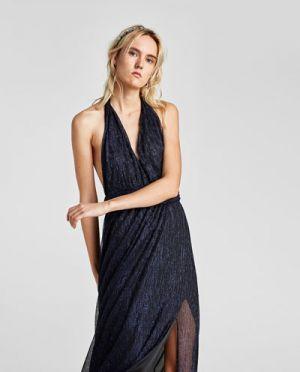 Sukienka Z Połuskiem Zara 249,00 Zł