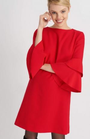 Sukienka Z Rozkloszowanymi Rękawami Orsay 139,99 Zł