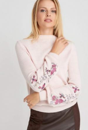 Sweter Lila Róż Orsay 119,99 Zł