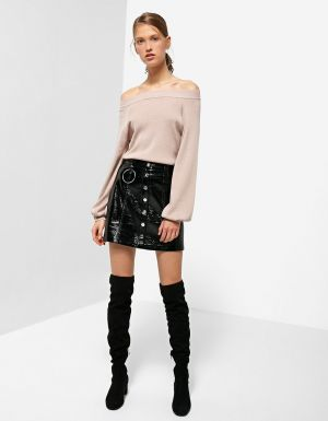 Sweter Off-shoulders Stradivarius 75,90 Zł