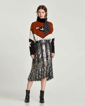 Sweter Z Motywem Kowbojskim Zaraz 139,00 Zł