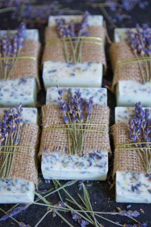 Lawendowe mydło