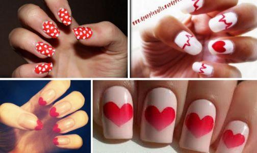 Paznokcie Na Walentynki (4)