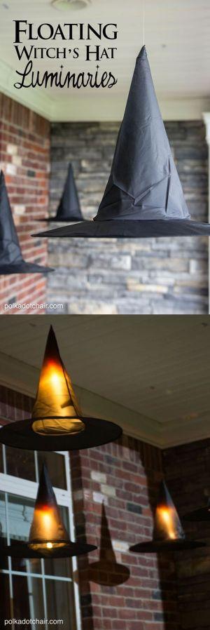 Lampiony jak kapelusz