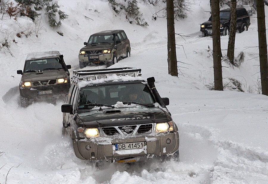 Off Road zima