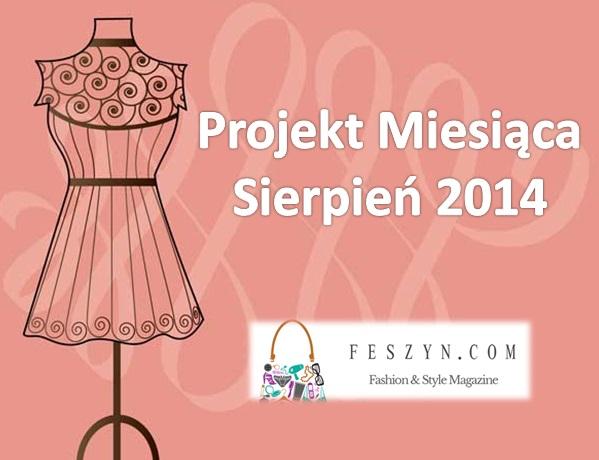 projekt miesiąca sierpien 2014
