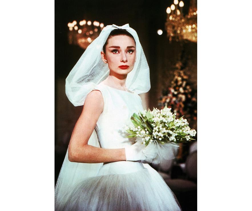 Audrey Hepburn dans le film Drôle de frimousse de Stanley Donen en 1957