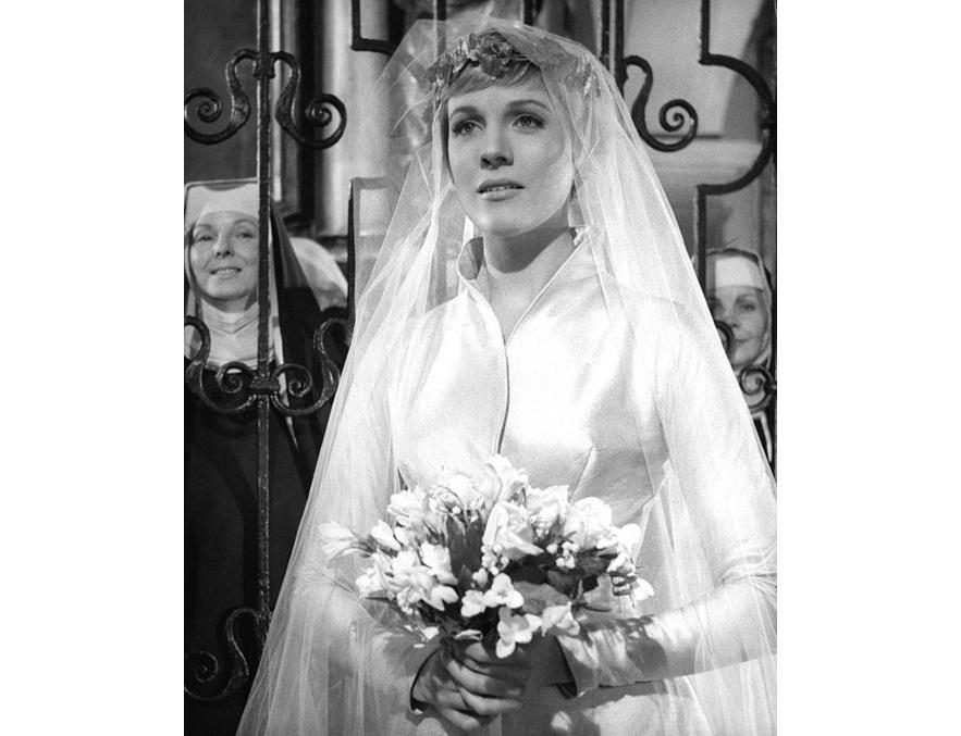 Julie Andrews dans le film La mélodie du bonheur de Robert Wise en 1965