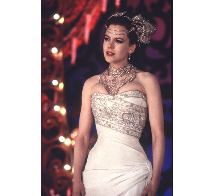 Nicole Kidman dans le film Moulin Rouge de Baz Luhrmann en 2001