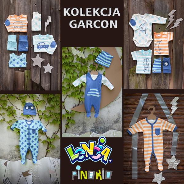 ubrania dla niemowlaka