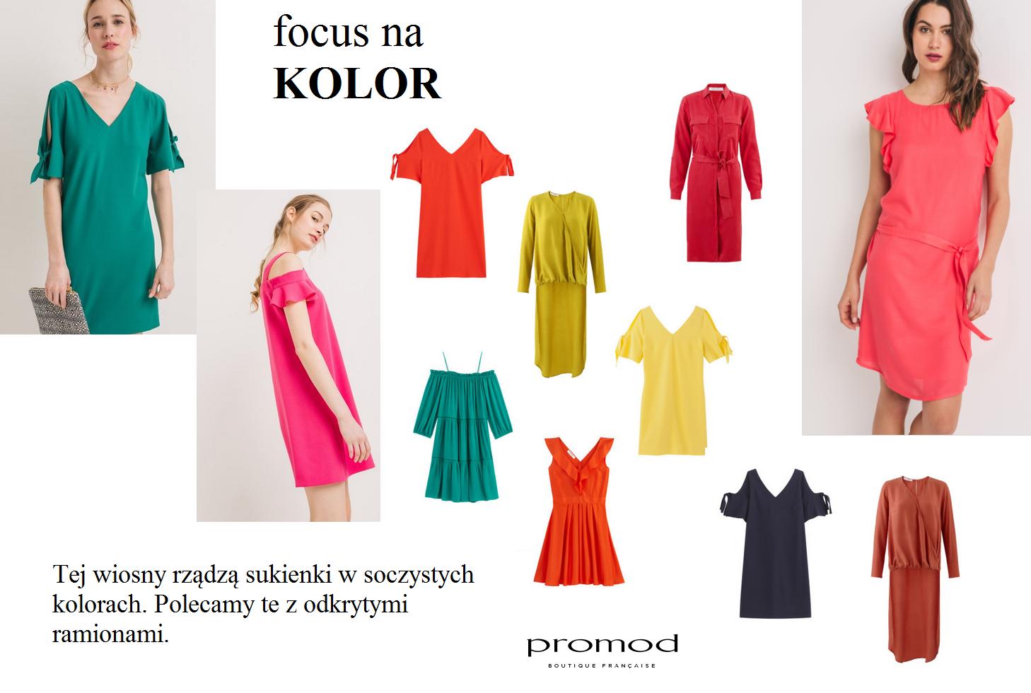 Focus na kolor