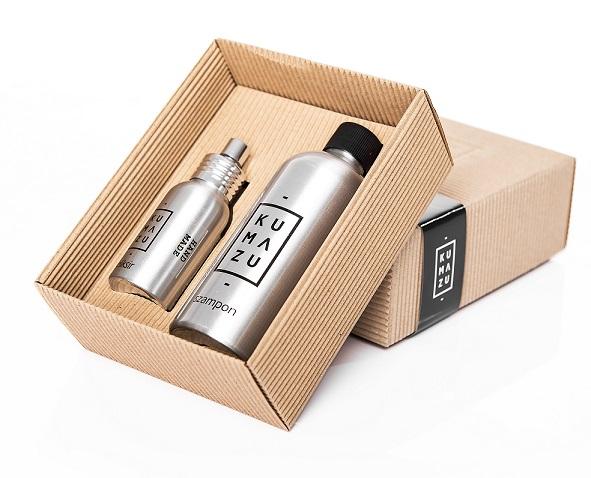 Naturalne składniki zawarte w szamponach.