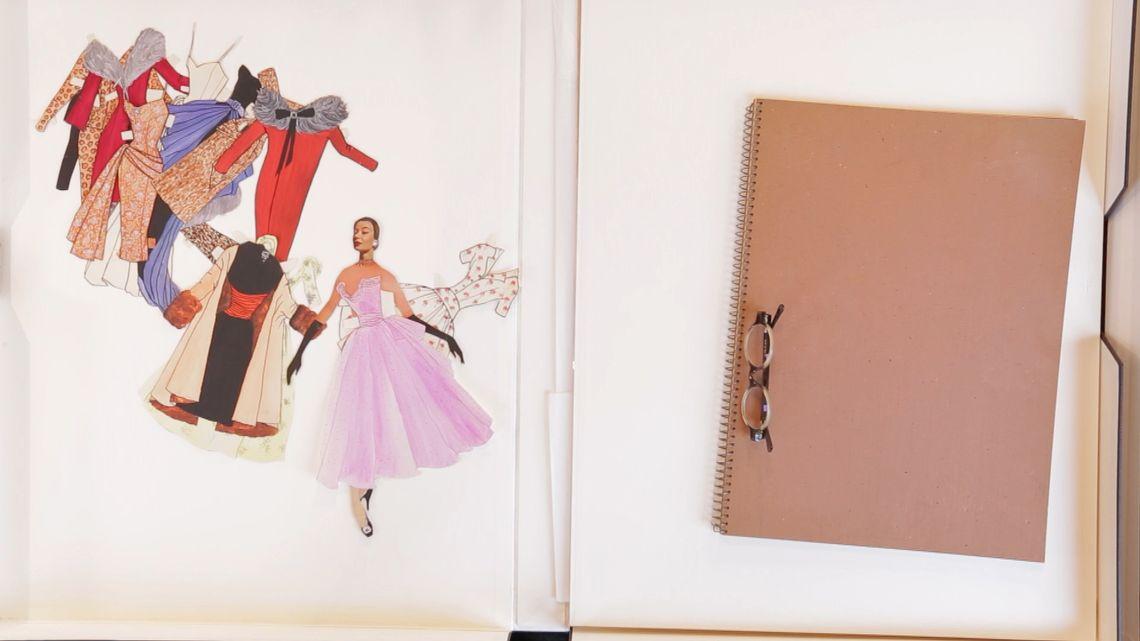W archiwach fundacji Pierre Bergé – Yves Saint Laurent do dziś znajdują się setki tysięcy niepublikowanych dotąd prac