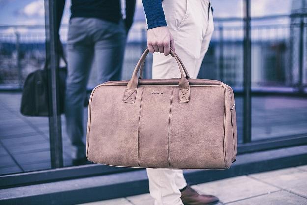Skórzana torba męska