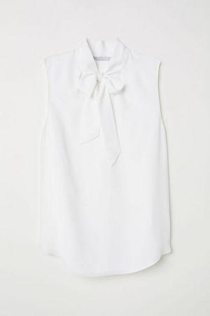 Bluzka Z Krepy H&M 48,00 Zł