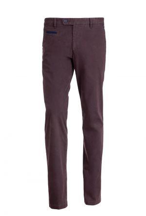 Brązowe Spodnie Typu Chino Franco 229,00 Zł