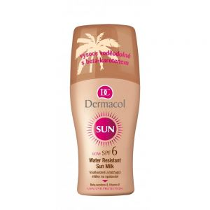 DERMACOL SUN MILK SPRAY SPF6 Do Opalania