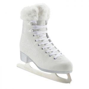 Decathlon, łyżwy Figurowe 500 Białe Oxelo, 149,99 PLN