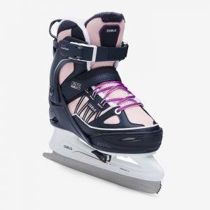 Decathlon, łyżwy Fit500 Niebiesko-różowe Oxelo, 199,99 PLN