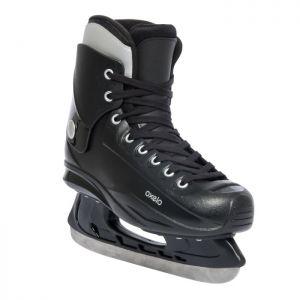 Decathlon, łyżwy Fit50 Czarne Oxelo, 99,99 PLN