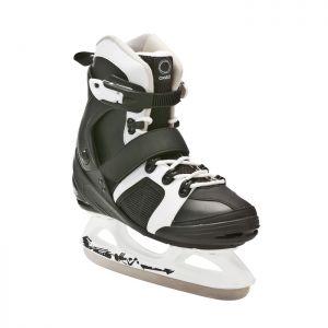 Decathlon, łyżwy Fit 3 Czarno-białe Oxelo, 159,99 PLN