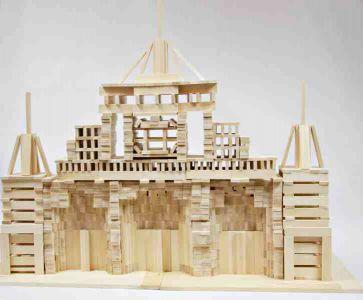 Drewniane Klocki Konstrukcyjne Linden  (10)