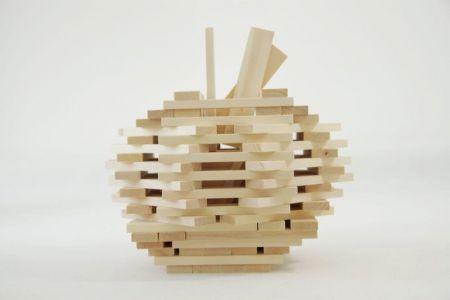Drewniane Klocki Konstrukcyjne Linden  (12)